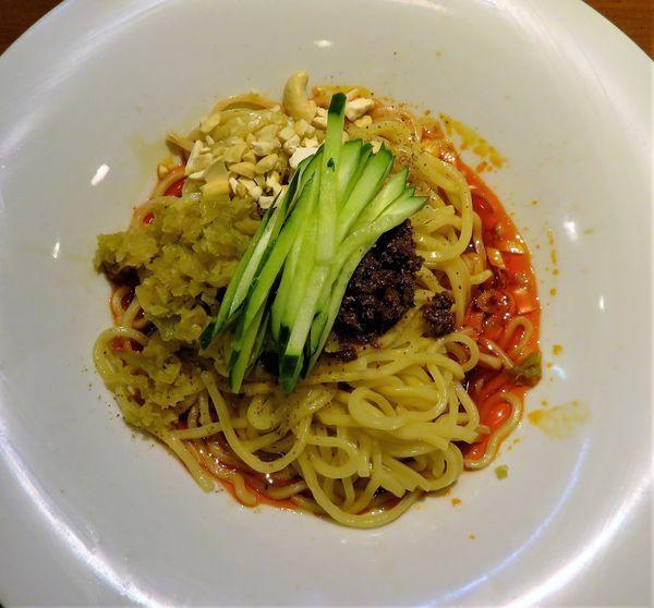 「成都汁なし担々麺(880円)」@成都正宗担々麺 つじ田の写真