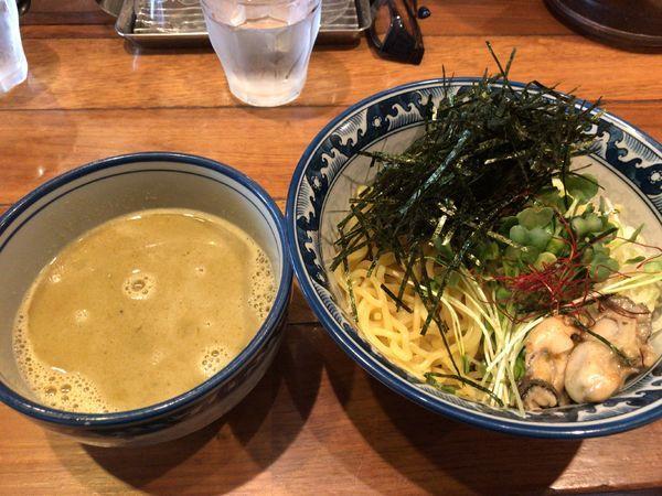 「牡蠣つけ麺」@麺や佐市の写真