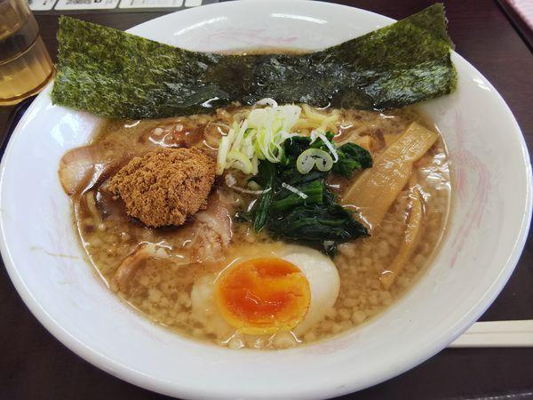 「魚介豚骨醤油ラーメン」@小黒川パーキングエリア 上り線スナックコーナーの写真