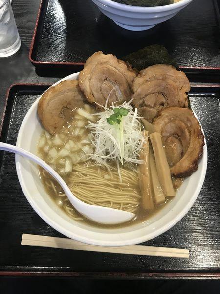 「煮干しらーめん 標準」@煮干しらーめん専門店 麺屋 晴の写真