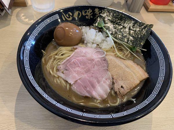 「中濃煮干しラーメン」@心の味製麺の写真