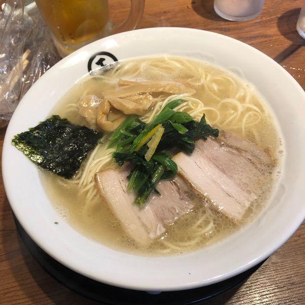 「濃厚金目鯛らーめん」@東京煮干中華そば 三三㐂 大森の写真