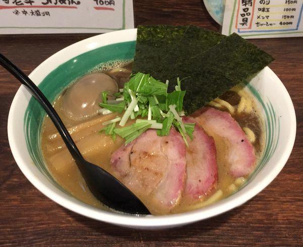 「特らぁめん」@自家製麺 麺屋 利八の写真