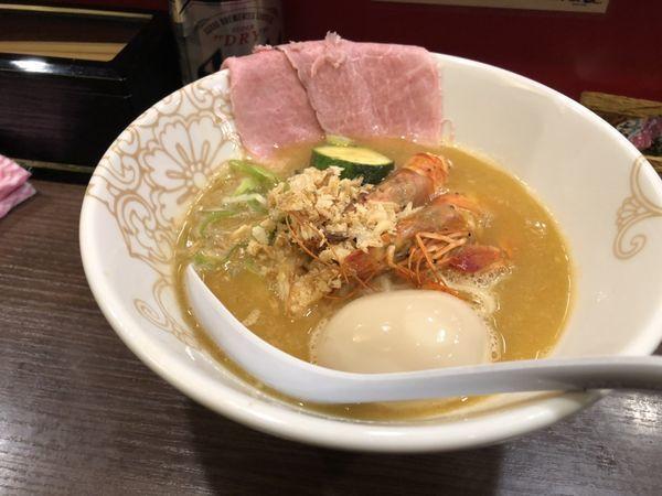 「限定濃厚海老そば」@麺屋 Rai遥の写真