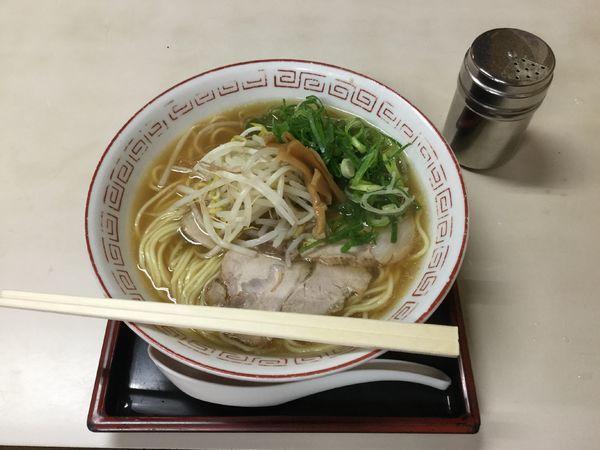 「中華そば(¥680)」@萬福の写真