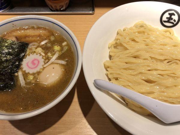 「特製つけ麺大盛り」@天然豚骨醤油 らーめん玉 超大吉 上野店の写真