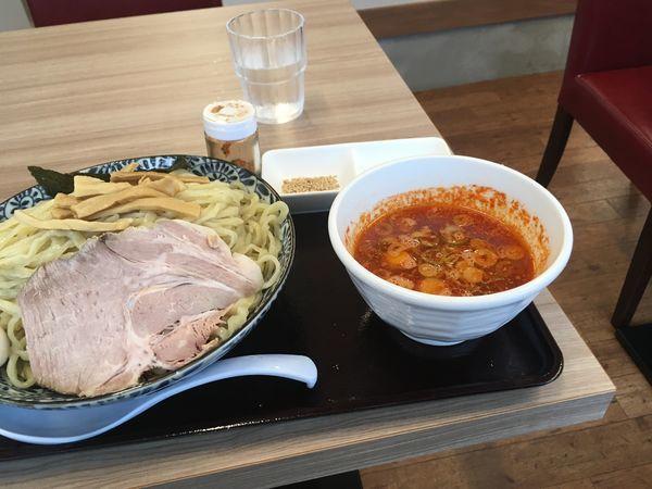 「辛つけ麺大盛り1050円」@龍のひげ 一義の写真
