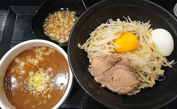 「カレーつけ麺(冷.小)800円」@つけ麺 どでんの写真