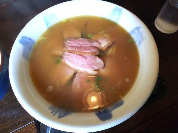 「有馬(鴨肉)ラーメン 1300円」@有馬ラー麺 青龍居の写真