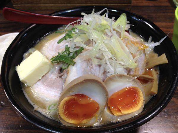 「味卵味噌チャーシュー」@麺処 花田 池袋店の写真