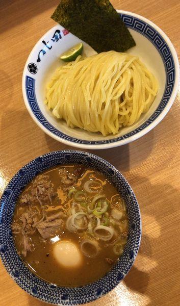 「濃厚豚崩しつけ麺」@つじ田 水道橋店の写真