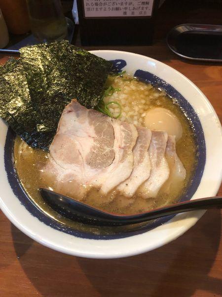 「特製濃厚煮干しそば」@濃厚煮干しそば 麺匠 濱星 関内店の写真