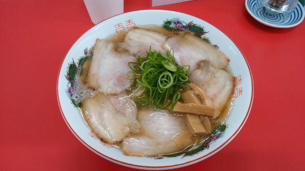 「チャーシュー麺¥900-」@中華そば 竹千代の写真