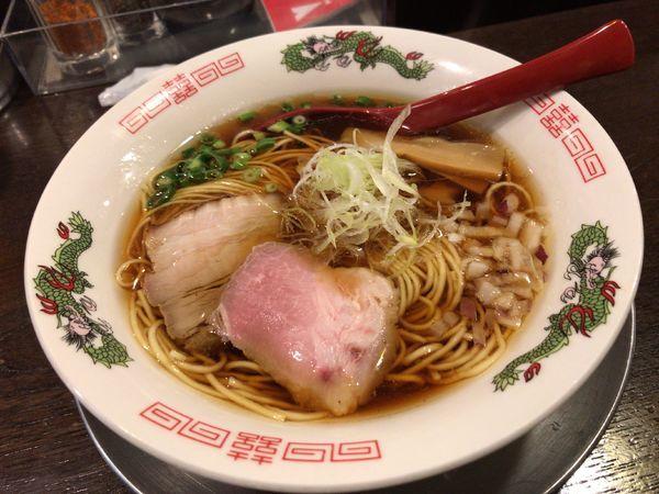 「【限定】追い節中華そば」@立ち呑み居酒屋 金町製麺の写真
