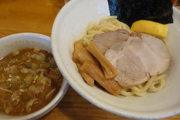 「つけ麺780円太麺」@麺道 GENTENの写真