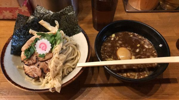 「つけ麺スペシャル」@馳走麺 狸穴の写真