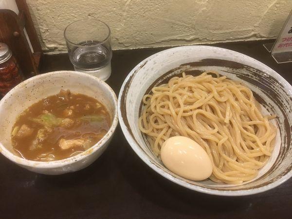 「つけ麺 830円 プラス味玉100円」@づゅる麺 池田の写真