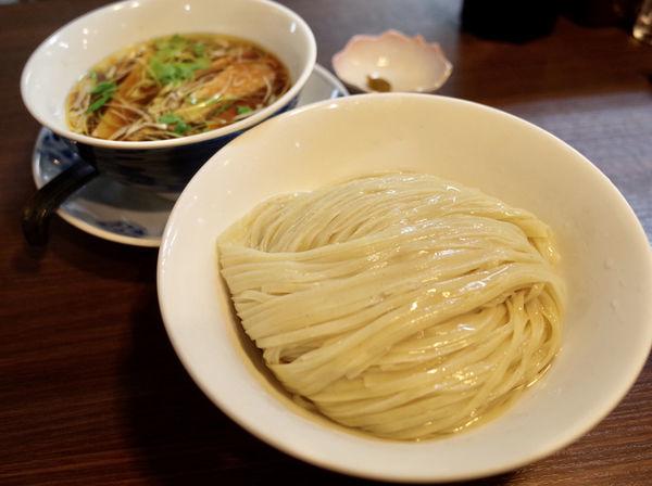「醤油つけ麺…780円」@らぁ麺 紫陽花の写真