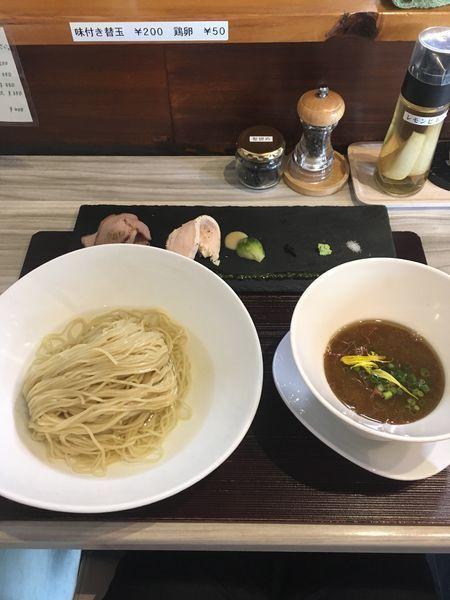 「天草淡麗つけ蕎麦 昆布〆」@つくばらーめん 鬼者語 -オニモノガタリ-の写真