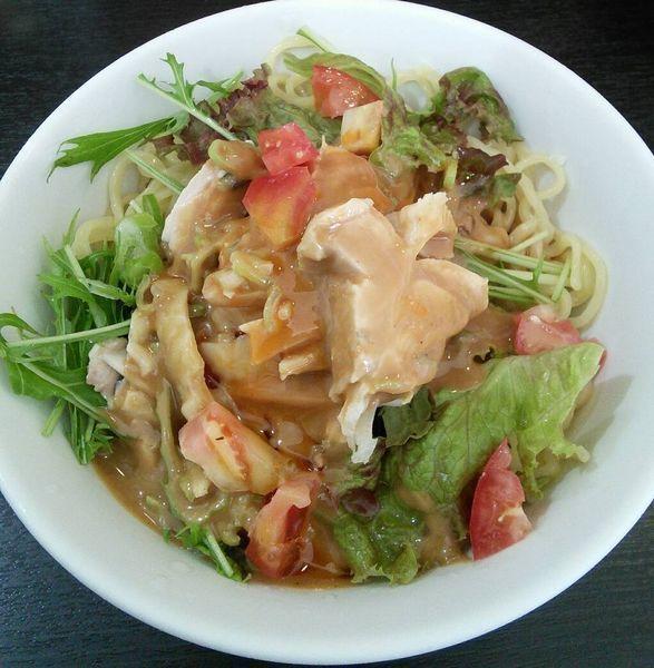 「【限定】鳥取県産大山鳥の棒棒鶏冷麺サラダ風」@あかくろたんたんの写真