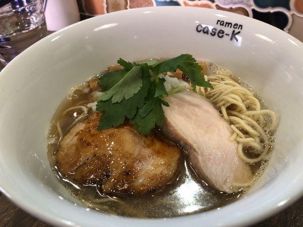「にぼしのらぁめん 750円」@ramen case-Kの写真