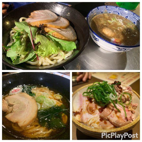 「つけ麺、しお、wingラーメン」@RAMEN Wingの写真