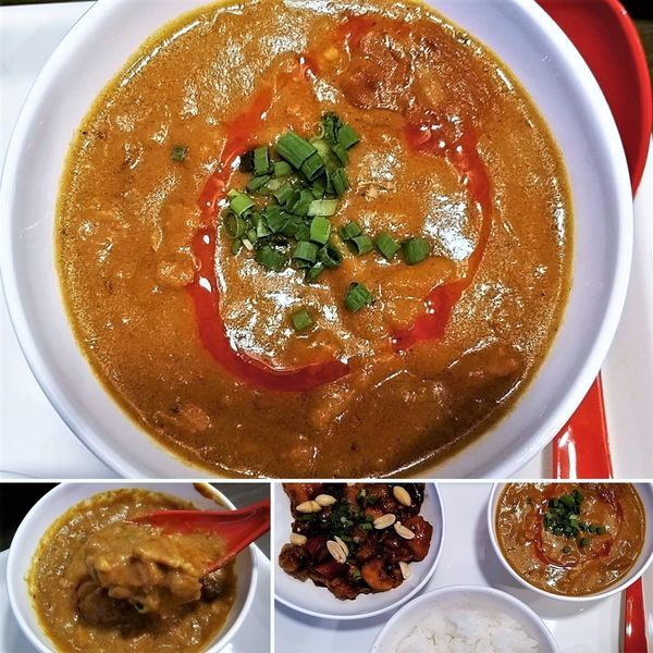 「成都カレー+限定料理=600円」@チャンドゥ・ハウスの写真
