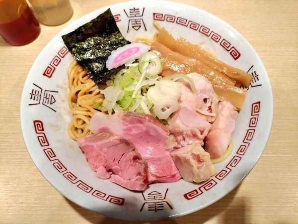 「期間限定 classic the 油そば」@らー麺 アオキジの写真
