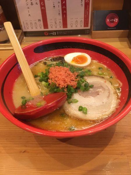 「えびしお〜ほどぼど細麺(780円)」@えびそば一幻 新宿店の写真