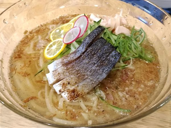 「冷やし塩そば」@福島壱麺の写真
