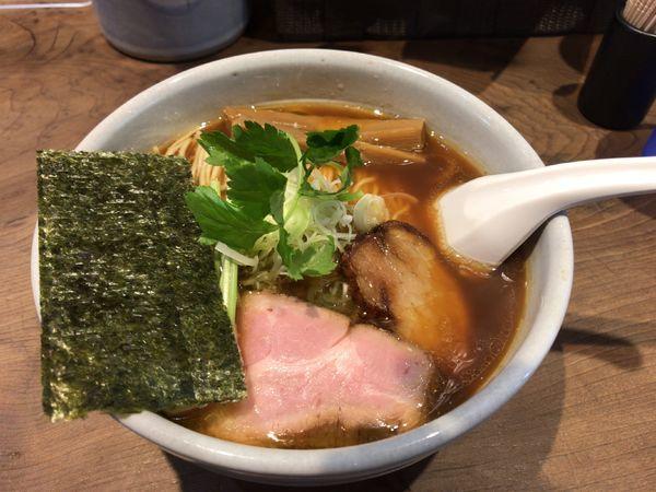 「天草大王の鶏醤油そば」@らーめん つけめん 和み屋の写真