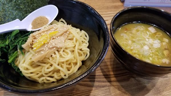 「つけ麺 並 塩」@らあめん 万咲 松本店の写真