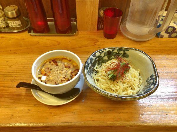 「伊勢海老坦坦つけ麺」@辛っとろ麻婆麺 あかずきんの写真