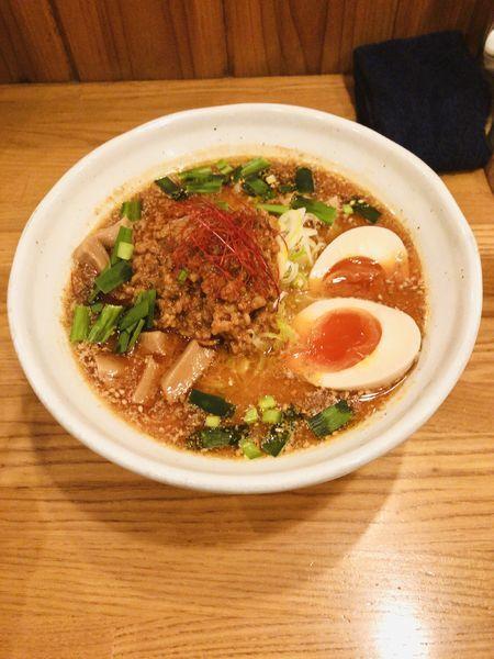 「限定 ピリ辛担々麺 900」@麺道 GENTENの写真