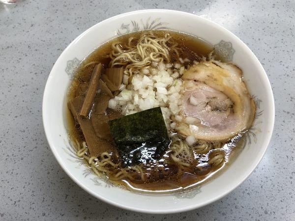 「ラーメン 蕎麦粉麺」@丸幸の写真