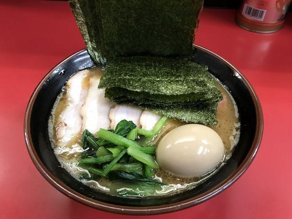 「チャーシューメン・海苔・味玉」@田上家の写真