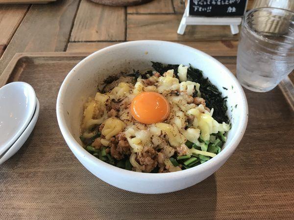 「台湾まぜそば」@Omotenashi Noodles よこじの写真
