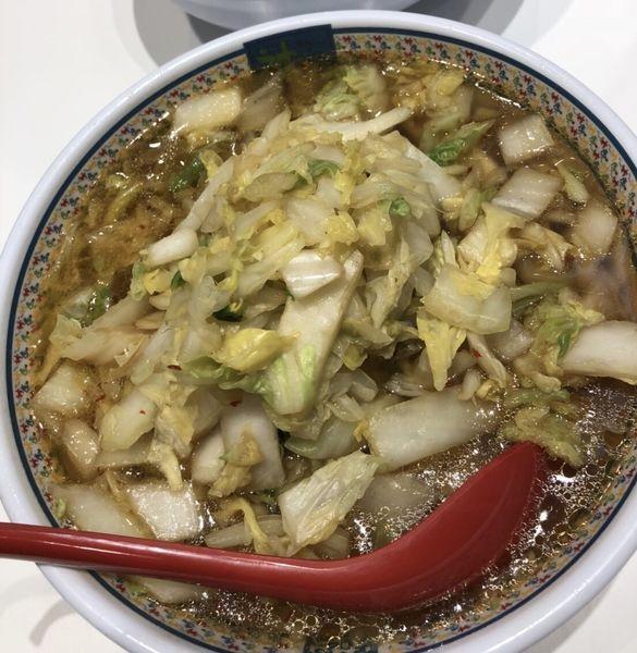 「白菜たっぷりラーメン」@どうとんぼり神座 エキマルシェ新大阪店の写真