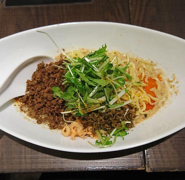「つゆ無担々麺(850円)」@四川担担麺 阿吽 北浦和店の写真