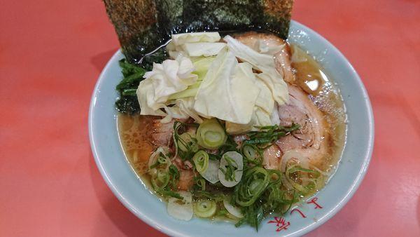 「チャーシュー麺 【バラ肉】 950円」@よし家の写真