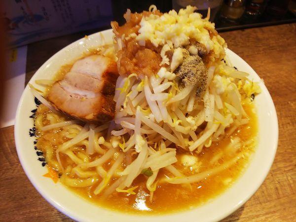 「にぼ二郎 (麺の大盛) 780円」@濃厚煮干しラーメン 麺屋 弐星の写真