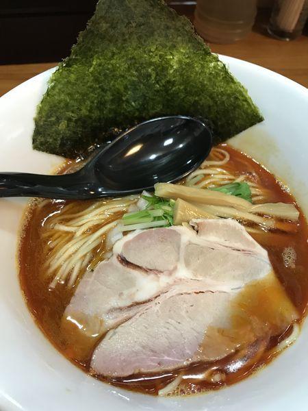「赤ラーメン(辛) 800円」@いのうえの写真