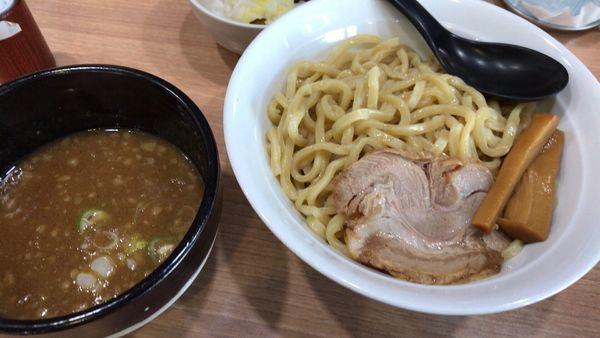 「濃厚つけ麺」@横浜家系 真面目の写真