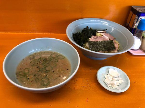 「つけ麺 (中)  600円」@ラーメンショップYAMANAKAの写真