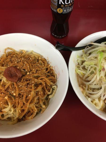 「お茶漬け〜麺」@ラーメン二郎 相模大野店の写真