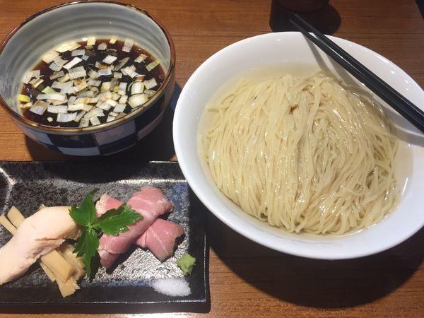 「川越醤油のつけ麺 昆布水+大盛 1080円」@寿製麺よしかわ 川越店の写真
