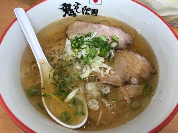「鬼塩ラーメン 850円」@鬼そば 藤谷の写真