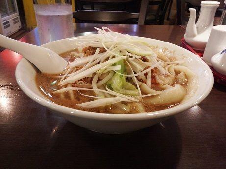 「担々刀削麺」@天竺屋台の写真