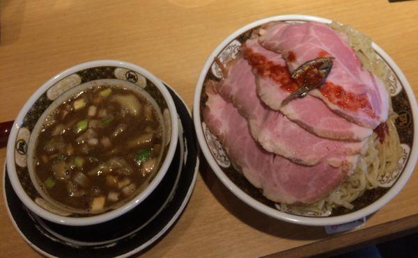 「つけ麺 600g チャーシュー」@すごい煮干ラーメン凪 新宿ゴールデン街店 別館の写真