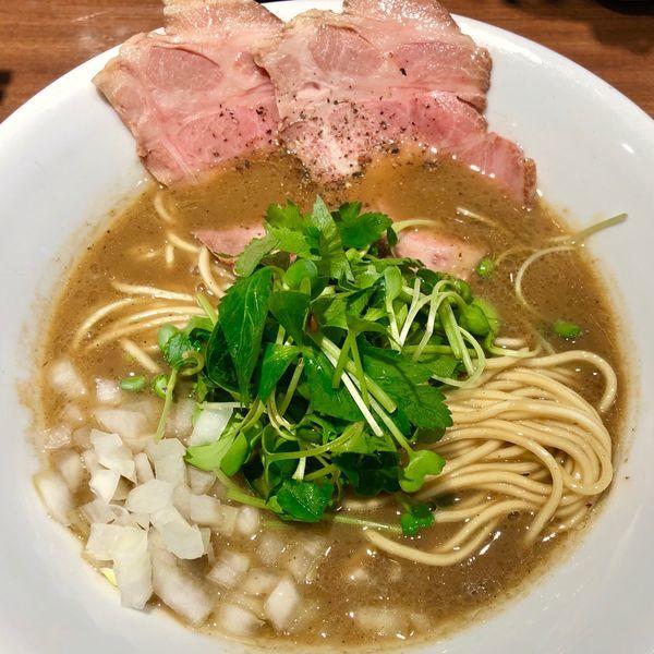 「濃厚烏賊煮干中華そば (醤油) 780円」@麺屋 ねむ瑠の写真